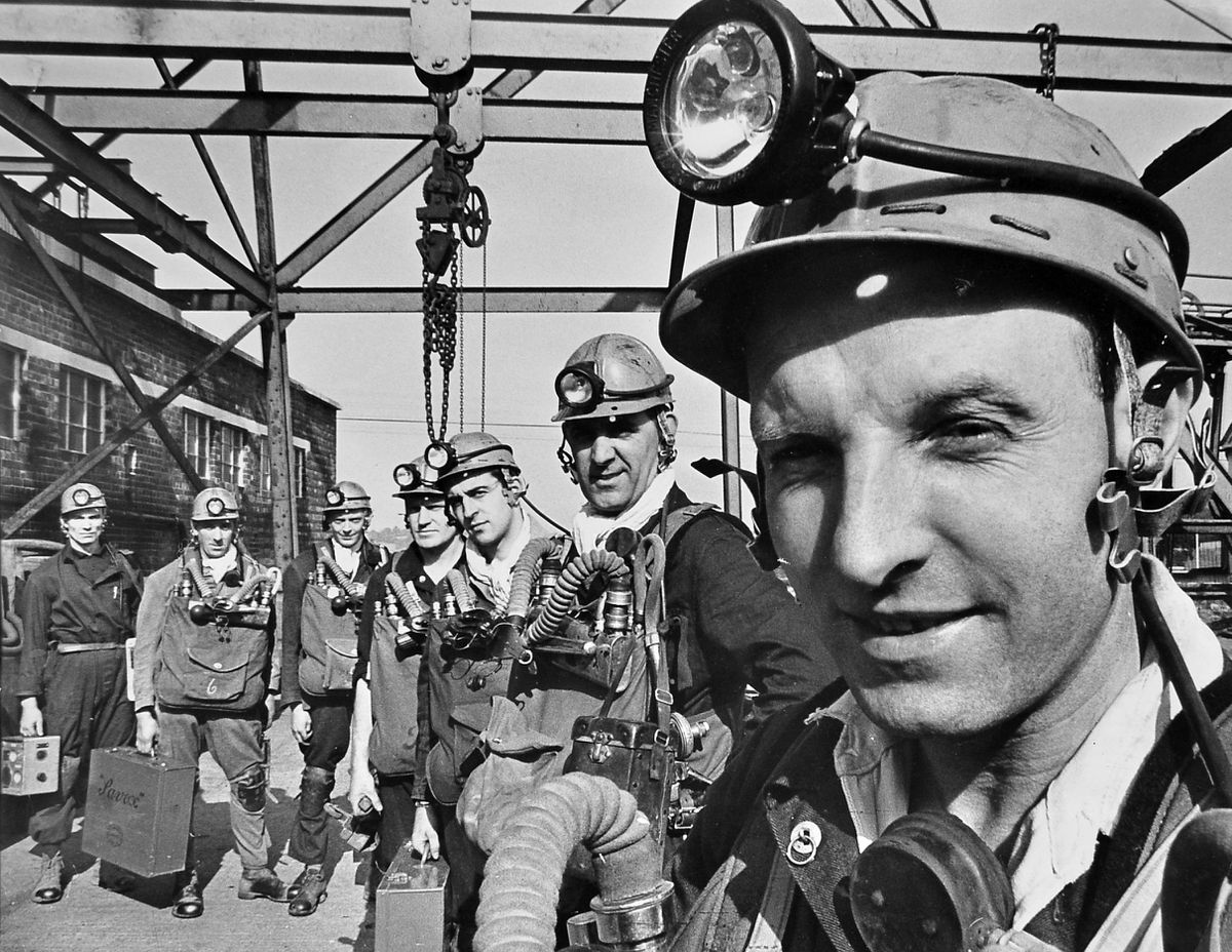 On October 3, 1964, a Shropshire pit hosted the West Midlands final of the regional mine rescue competition for the first time and there was a shock result, as the tough members of Birch Coppice (Warwickshire) mine rescue team (pictured), led by Les Wanklyn, who were the hot favourites, did not win. The competition was held at Madeley Wood Colliery and was Birch Coppice's ninth final. Winners were Cannock Wood Colliery. This picture was carried in the first ever Shropshire Star, published on Monday, October 5, 1964. Madeley Wood Colliery was actually two pits at Halesfield and Kemberton, connected underground.