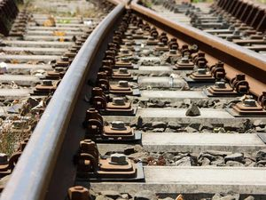 Life saving defibrillators for train stations
