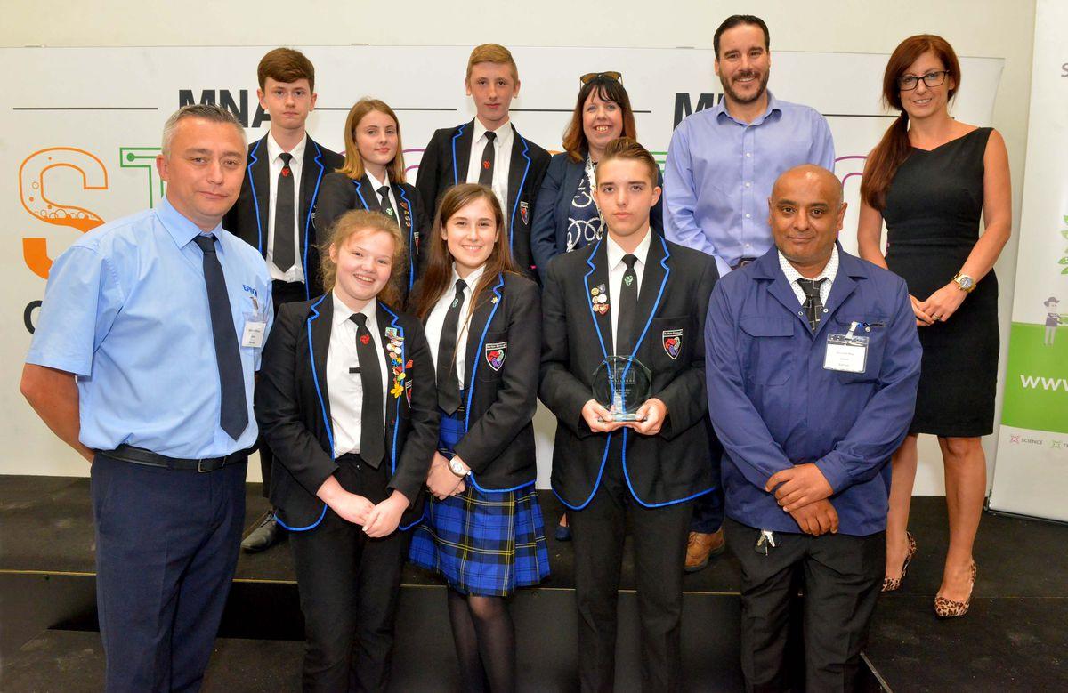 Best Work Plan award: Burton Borough school