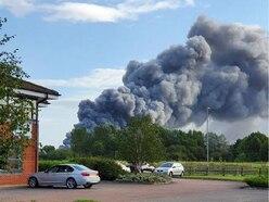 Big fire hits Village Bakery factory
