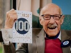 Shrewsbury war veteran Thomas celebrates his 100th birthday with family and friends