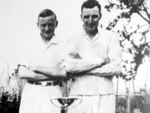 George and Arthur Dudley were well known Chelmarsh sportsmen.