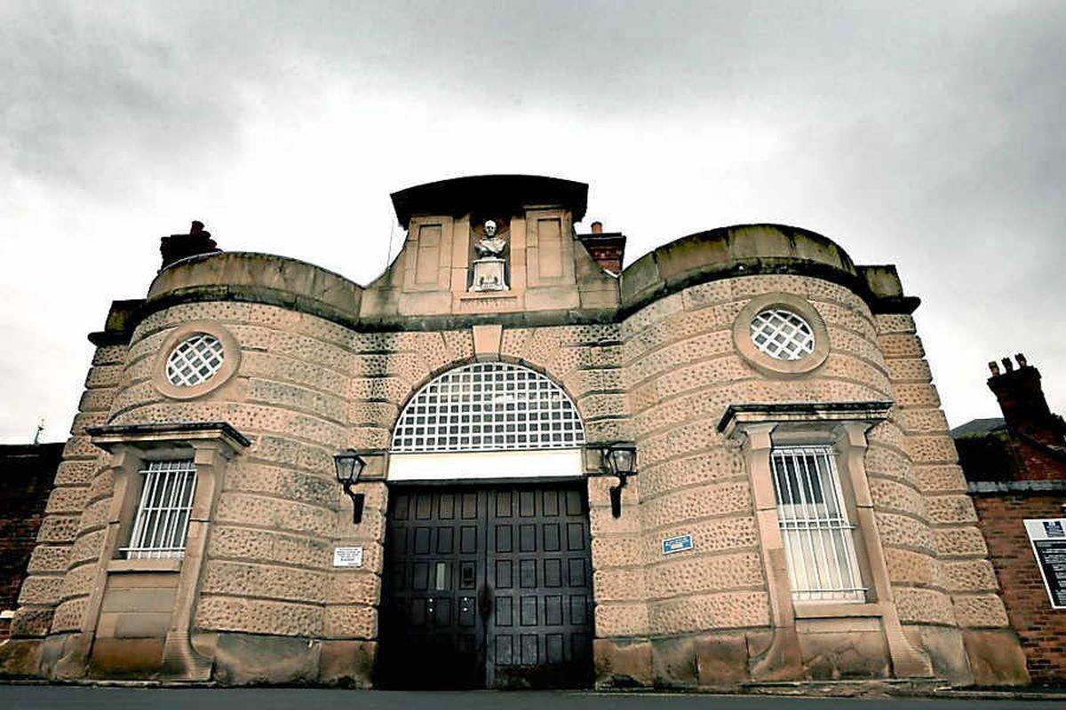 Dana prison in Shrewsbury
