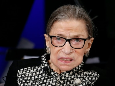 US Supreme Court justice Ruth Bader Ginsburg taken to hospital