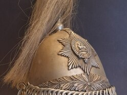 Proud link to local military history as rare yeomanry helmet turns up at Shropshire shop