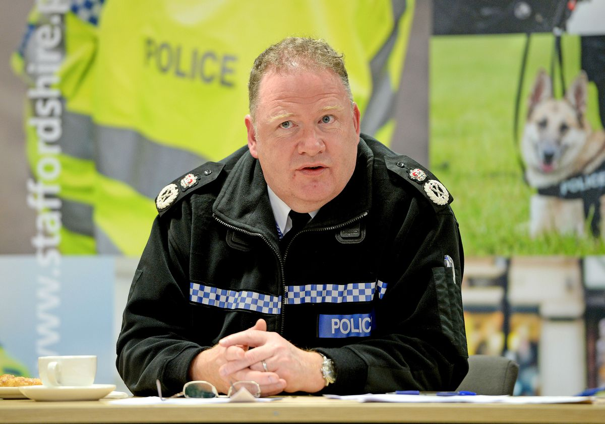 Chief Constable Gareth Morgan