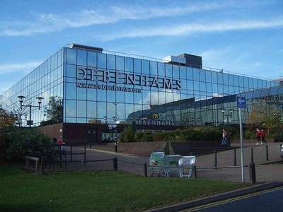 Debenhams in Telford spared axe in first round of closures