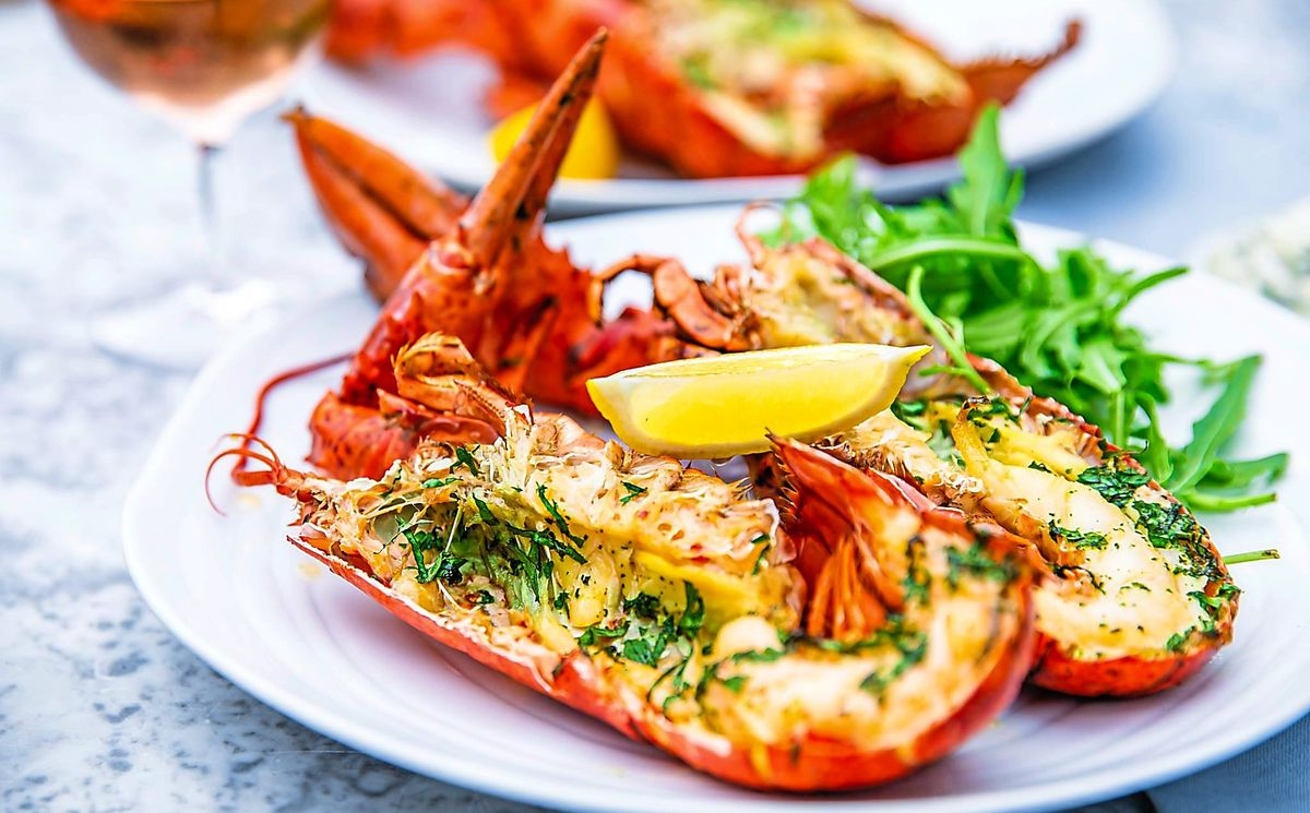 Lobster frites – the lobster spent too long in the pan and was chewy