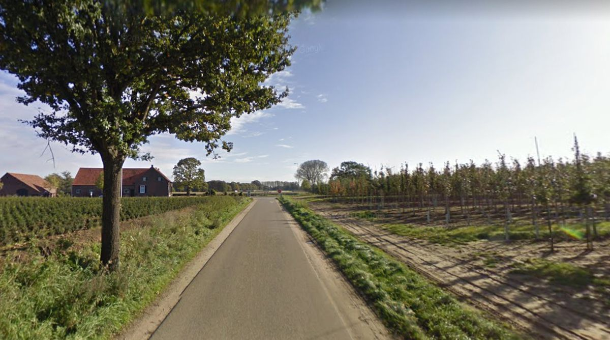 Private Marsh was killed in action somewhere in this general area on the outskirts of the Dutch village of Meerlo. Picture: Google Street View.