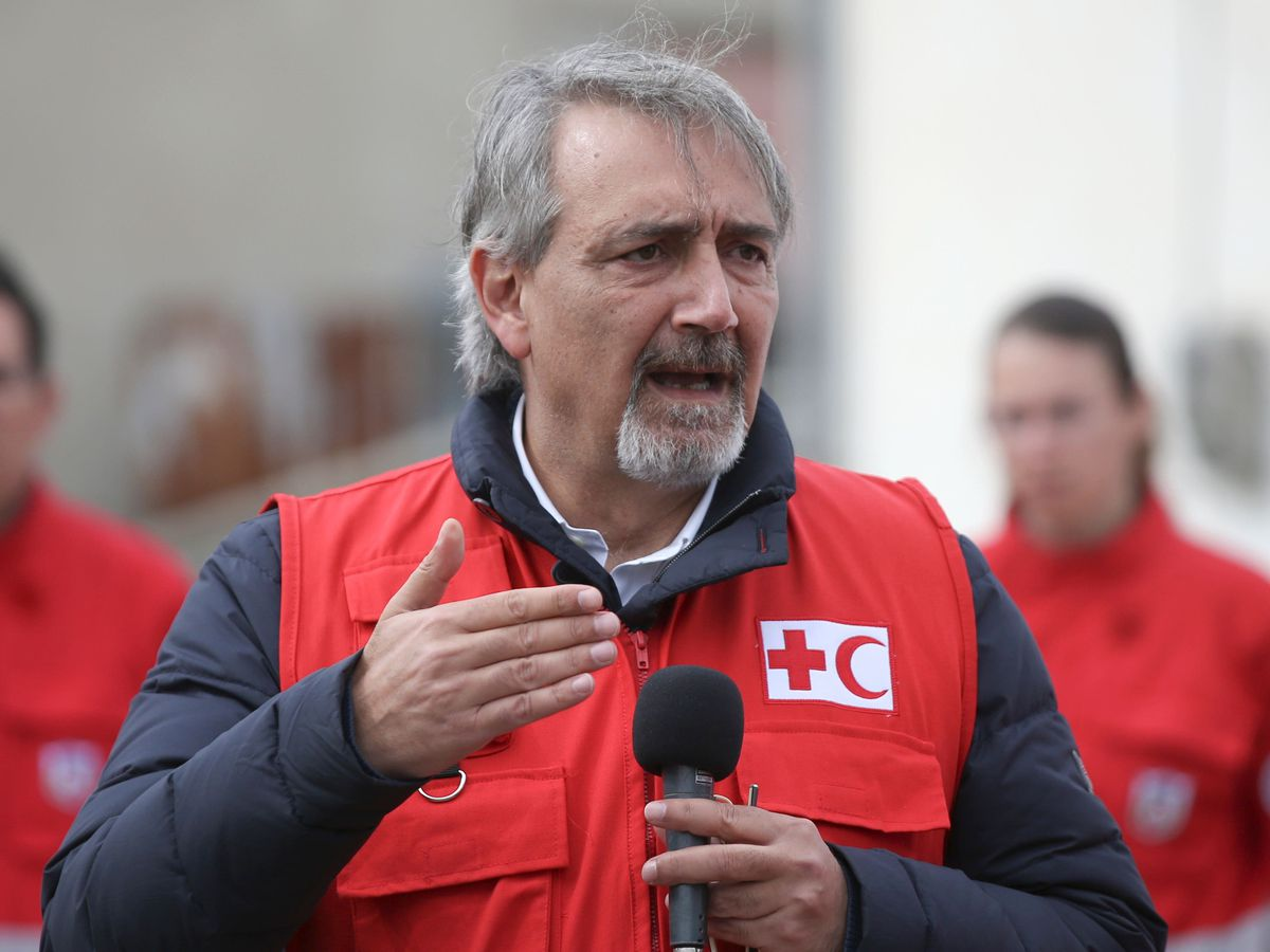 Red Cross president urges fight against Covid vaccine 'fake news'