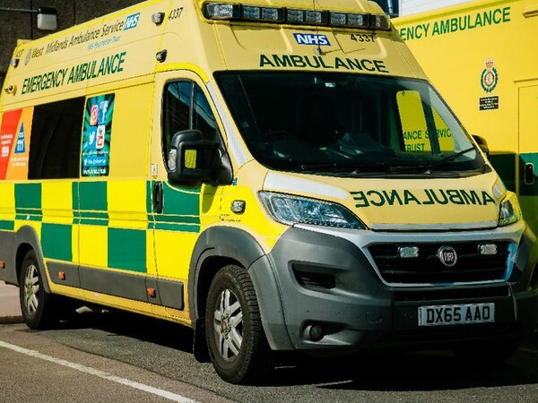 Car overturns in crash near Craven Arms
