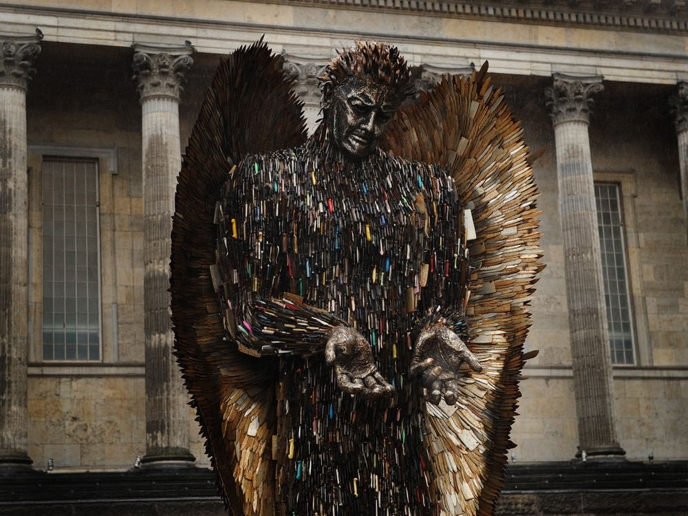 Knife Angel is coming home to Shropshire - for a while