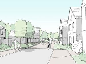 An artist's impression of what the withdrawn development could have looked like