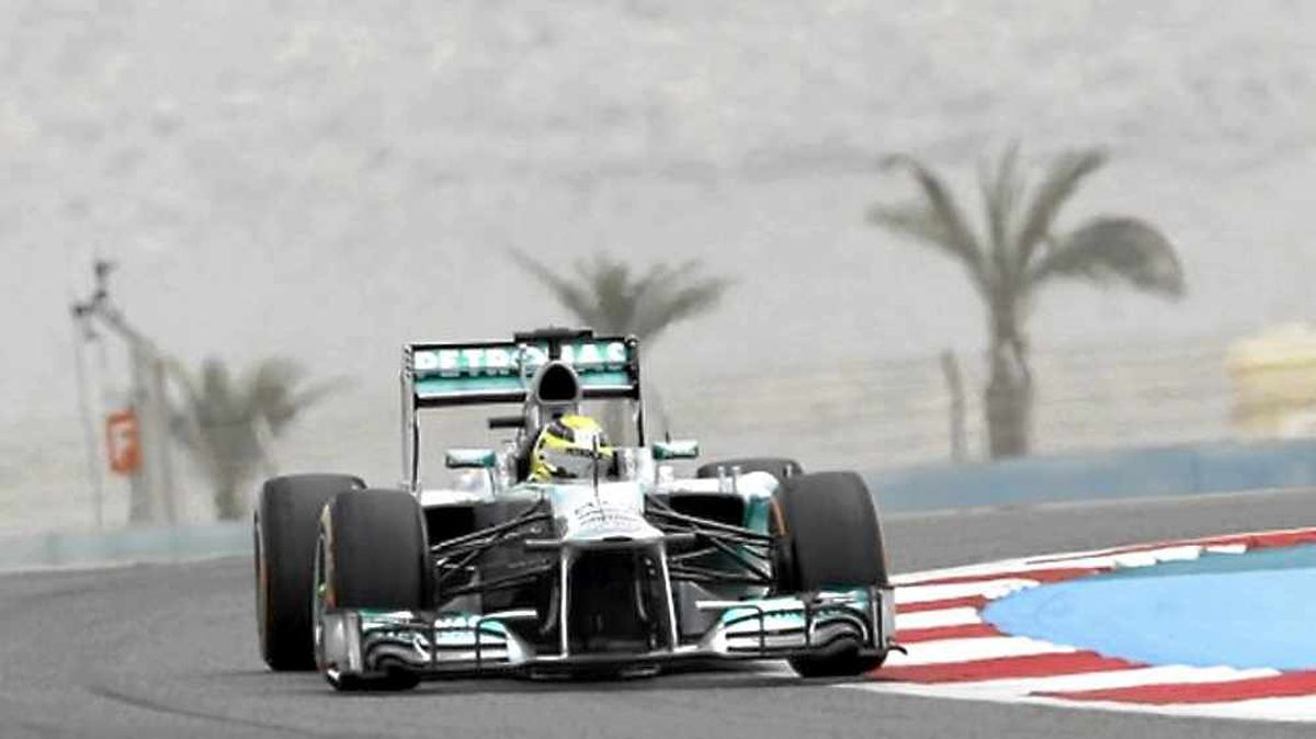 The Bahrain GP was being held on Sunday