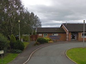 The former Bronllys Primary School - from Google Street view