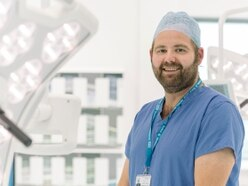 Award-winning surgeon 'delighted' to join Oswestry hospital