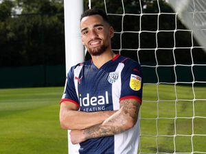 New signing Kean Bryan of West Bromwich Albion (AMA)