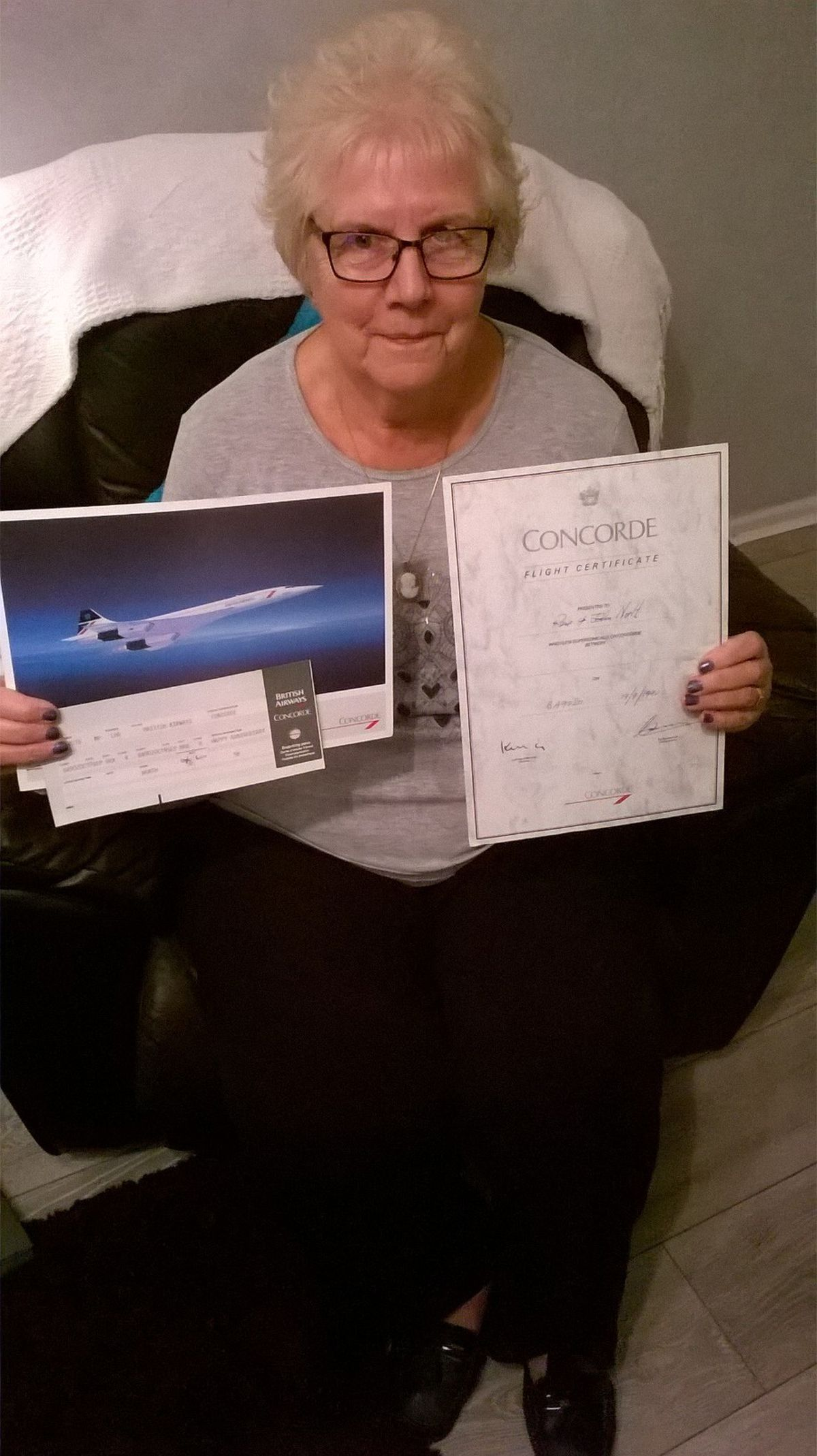 Rose North remembers her time on Concorde