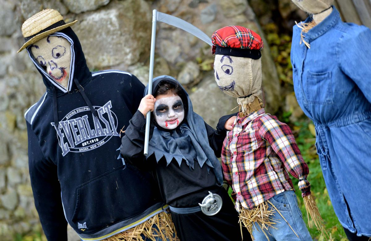 Halloween fun at Whittington Castle