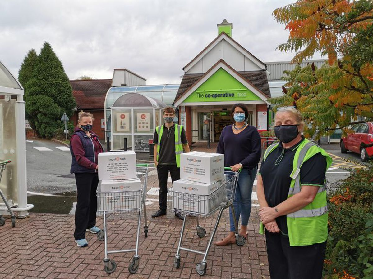 Staff at the Radbrook Co-op agreed to store the items before they were distributed to local schools