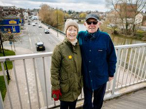 Mary and Walter Edmond from Shrewsbury