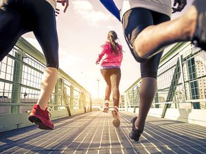Keep on running – be inspired and don't lose faith