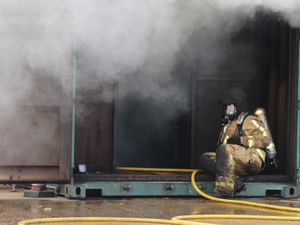Two treated after toaster fire at Shrewsbury house