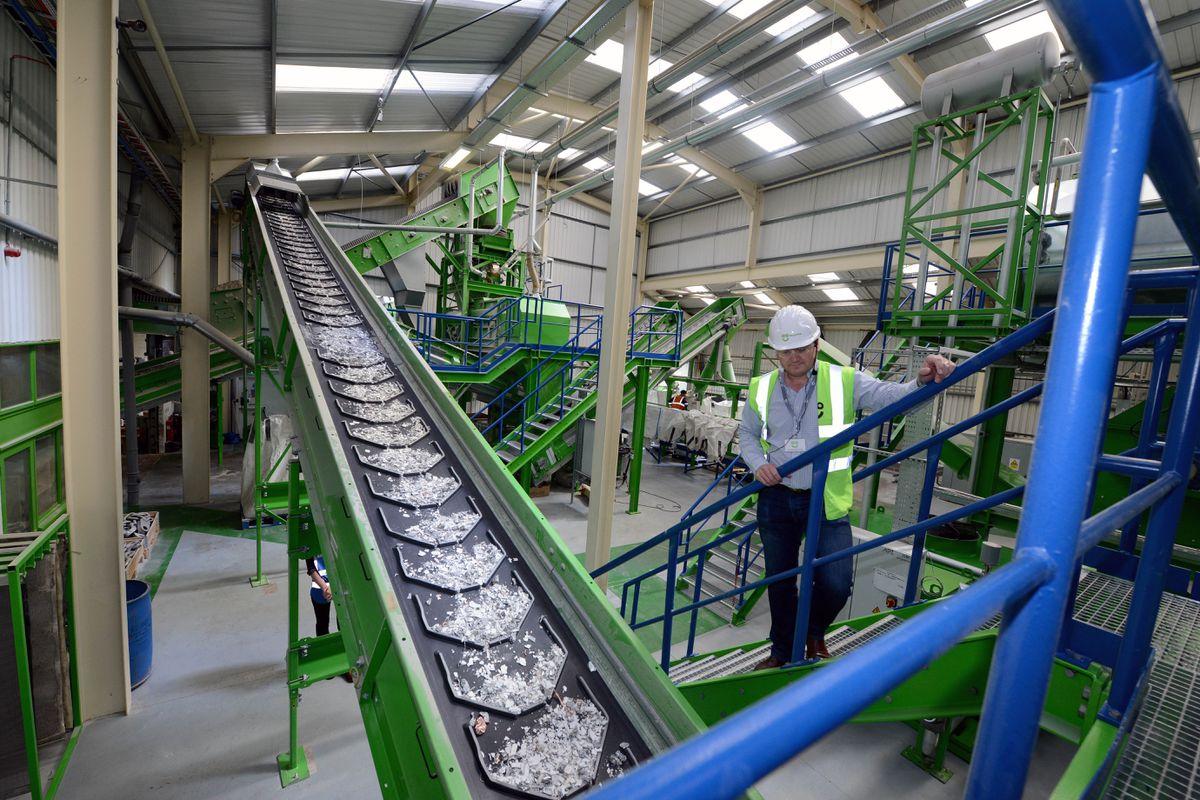 AO's recycling facility in Telford