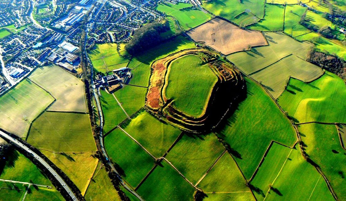 The Oswestry hillfort