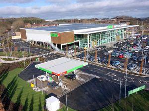 Stock photo of the Asda petrol station at Telford Town Centre. Photo: 360skylens.co.uk