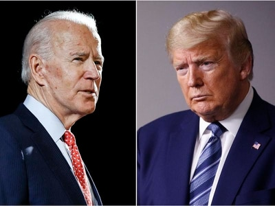 Joe Biden ready to go head to head with Donald Trump in duel for the White House
