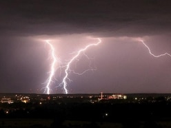Thunderstorms warning for Shropshire and Mid Wales