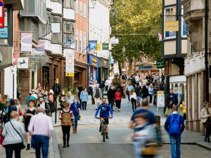 There has been a spate of thefts and anti-social behaviour in Shrewsbury town centre