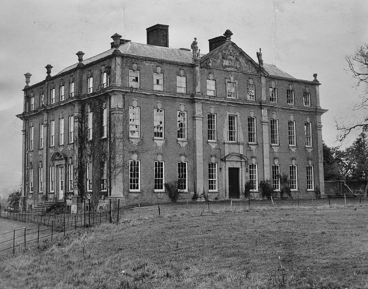 Mawley Hall in 1962
