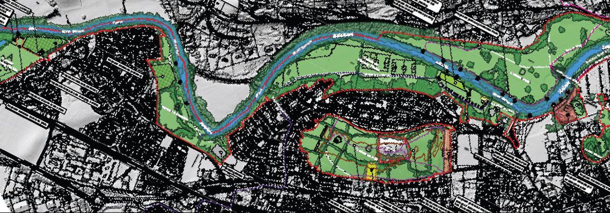 An overview of the land in Newtown which will be worked on by Lingard Farrow Styles, Landscape Architects