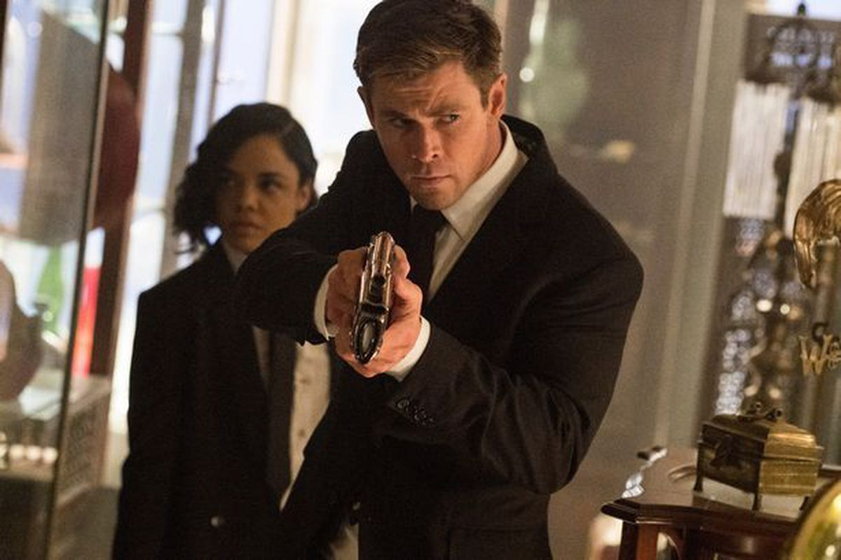 Chris 'Thor' Hemsworth and Tessa 'Valkyrie' Thompson step into shoes of Smith and Tommy Lee Jones in Men In Black: International