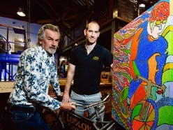 Ludlow artist holds exhibition in brewery for charity