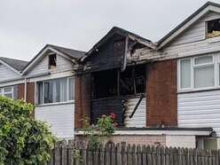 Woman rescued as fire tears through Shrewsbury house, damaging two others