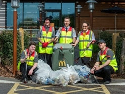 McDonald's reveals Shropshire area its restaurant volunteers will be cleaning up