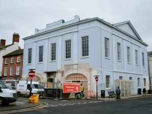 Funding from the government will help to plan for the reopening of Ludlow's Assembly Rooms.