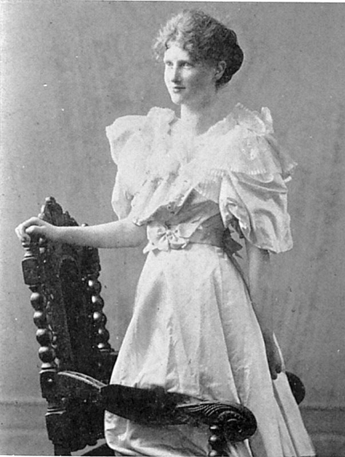 Eglantyne in her student days.