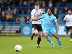 Matty Stenson keen to keep up the work rate with AFC Telford