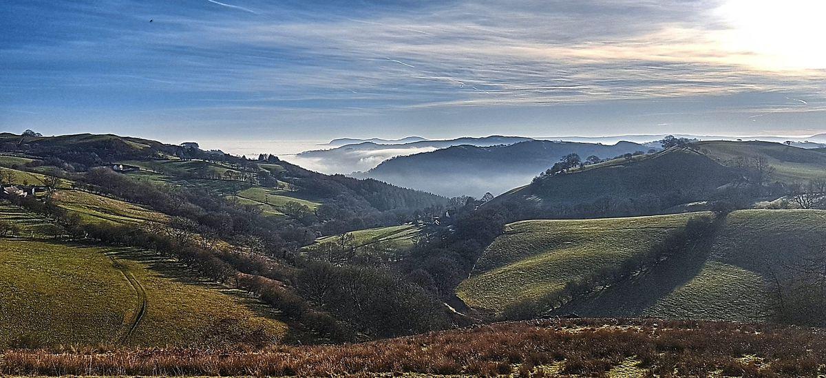 This misty shot was taken by @jones19671967, or Mark Jones, between Pontrobert and Llanfyllin
