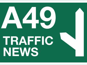 Overnight closures for essential works on A49 in Shropshire