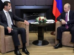Vladimir Putin holds talks with Syrian president Bashar Assad in Sochi