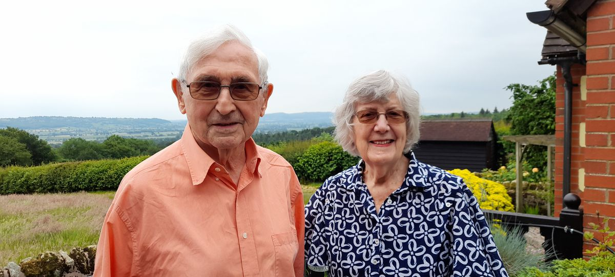 George and Mary Rowbotham said they wanted to give something back to the charity