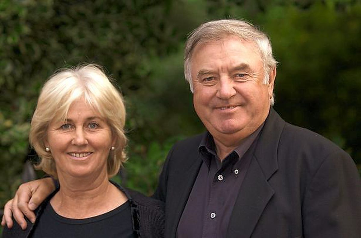 Me and my wife – with Pauline