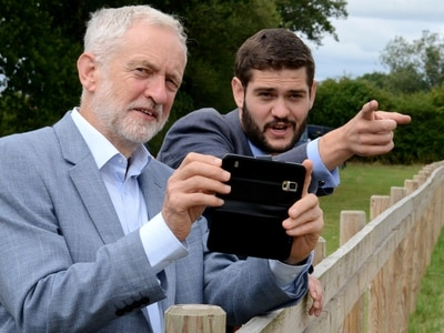 Jeremy Corbyn in Shropshire: Government failing on rural crime and homelessness