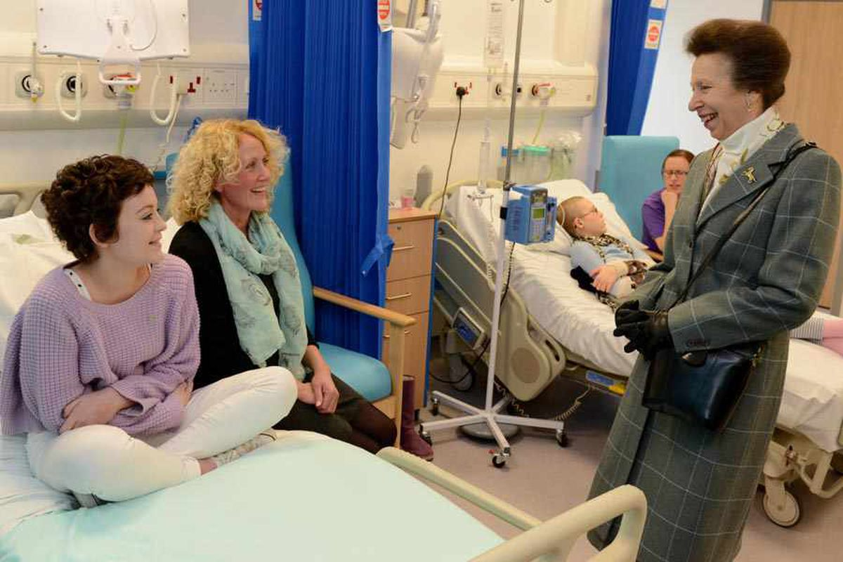 Hospital fit for a princess's visit and a vital role at university in Shropshire visit
