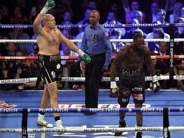 Tyson Fury expecting to face Deontay Wilder again after becoming WBC champion